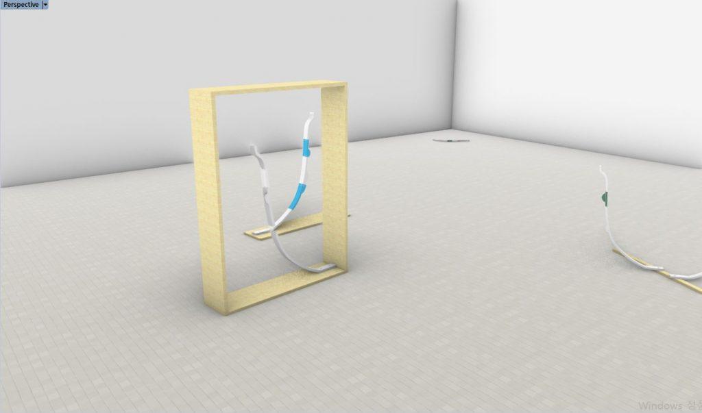 Profile Cup(series), 2020, sculpture, 3D printed PLA, Polyurethane transparent_1